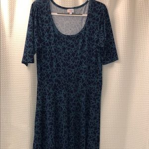 NWOT beautiful LuLaRoe Nicole Dress 2XL